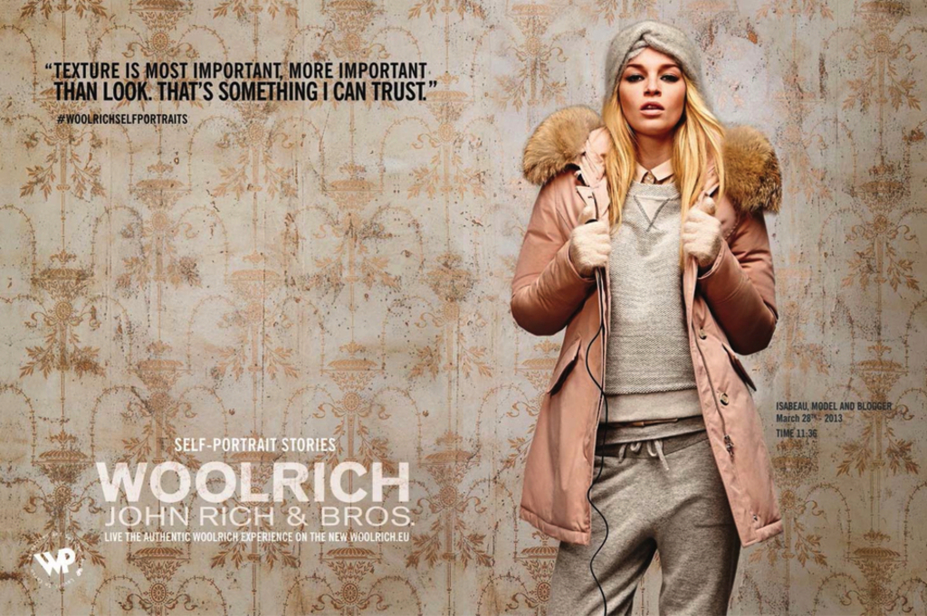 Isabeau for Woolrich